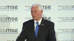 Pence scolds European officials for sticking with Iran nuclear deal