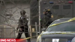 Chaos in Aurora, Illinois after gunman opens fire in workplace shooting