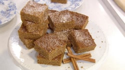Gluten-free recipe: Make Samah Dada's snickerdoodle cake bars