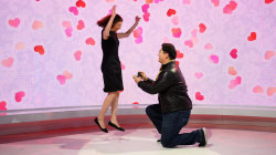 See 1 couple's live Valentine's Day proposal on TODAY