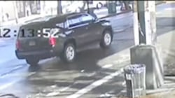 Dramatic video shows beam from NYC subway impaling car