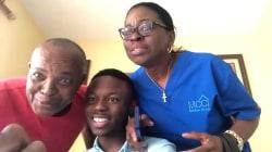Family overjoyed when law school grad passes bar exam