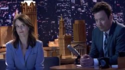 Jimmy Fallon, Tina Fey share fun behind-the-scenes look at 'Tonight Show'