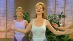 Flashback! See clips from Kathie Lee's workout videos