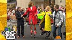 Flashback! Watch Kathie Lee and Hoda try pogo sticks