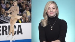 Gracie Gold on loving her legs, 'lumps and bumps' and all