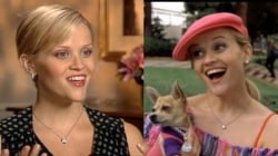 Reese Witherspoon on 'Legally Blonde' in 2003