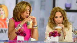 Kathie Lee and Hoda try Ariana Grande's new Starbucks drink