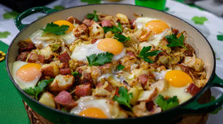 St. Patrick's Day brunch: Siri Daly's corned beef hash and eggs