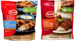 Tyson recalls chicken strips over possible metal contamination