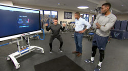 Cutting-edge tech helps athletes predict risk of injuries
