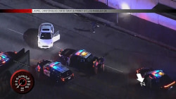 Watch: Suspect breaks out in a dance after police chase