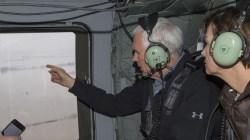 Mike Pence visits Nebraska, Iowa after flooding