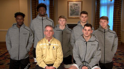 Wofford's Fletcher Magee talks about shooting for a record