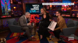 Whoops! Watch Andy Cohen drop Karlie Kloss' homemade cake