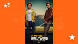 'Once Upon a Time in Hollywood' poster shows a retro DiCaprio and Pitt
