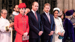 Prince Harry and Prince William split royal households