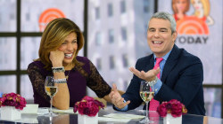 Andy Cohen gives Hoda a peek inside his phone