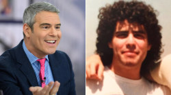 Andy Cohen and Hoda Kotb share throwback pics from college