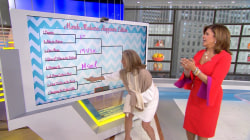 Hoda and Meredith Vieira make picks in a happiness bracket