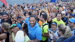 Will Smith talks about preparing to run a half marathon