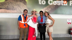 Southwest Airlines rescues forgotten bridesmaid dress
