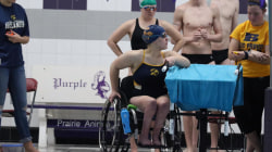 Collegiate swimmer highlights the need for differently-abled athletes in competitive sports