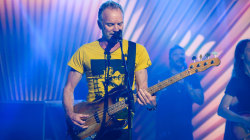 Sting performs 'If You Love Somebody Set Them Free' live on TODAY