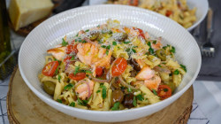 Entertaining recipes: Make Giada's pasta with fresh puttanesca