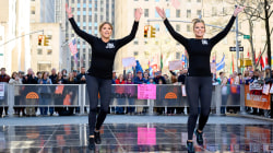 Get Fit TODAY: Savannah and Jenna show off their dance routine live