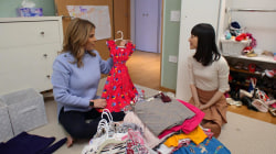 Marie Kondo helps Jenna tidy up her daughter's closet