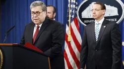Attorney General Barr stresses 'no collusion' in Mueller report presser