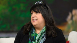 E L James reads excerpt from her steamy new book, 'The Mister'