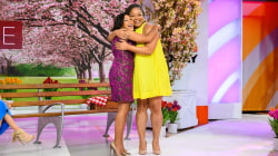 Watch: Sheinelle gets an even bigger sibling surprise on TODAY