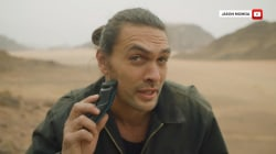 Jason Momoa shaves off beard for 1st time in 7 years