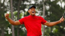 Tiger Woods wins big at Masters; celebs send their congrats