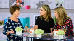 Savannah Guthrie's mom stops by with parenting tips