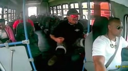 Watch apparent bias attack unfold on New Jersey bus