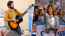 Hoda Kotb stops by to see Thomas Rhett perform on TODAY!