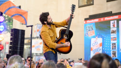 Watch Thomas Rhett sing 'That Old Truck' live on TODAY