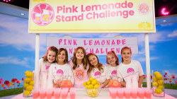 Girl's Pink Lemonade Stand Challenge supports breast cancer research