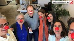 #HeroHighFive: Social media shares their Red Nose Day pics