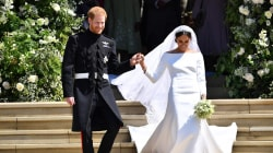 Prince Harry, Meghan Markle mark 1st anniversary with new wedding photos