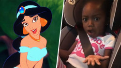Jasmine doesn't need Aladdin to see the world, little girl argues