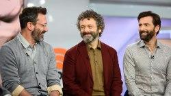 Jon Hamm, Michael Sheen and David Tennant talk 'Good Omens'