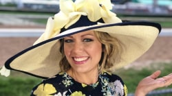 See how Dylan Dreyer's fancy Kentucky Derby hat was made