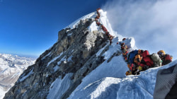 Record number of climbers on Mount Everest lead to safety concerns