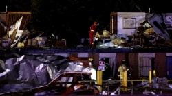 Deadly tornado rips through Oklahoma town, killing 2