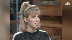 Debbie Gibson talks music, career goals on TODAY in 1988