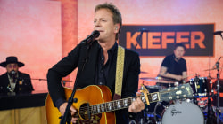 Watch Kiefer Sutherland perform 'Something You Love' live on TODAY